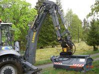 Buskröjare till grävare OSMA