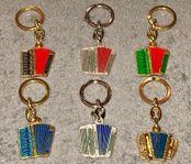 Nyckelringar med dragspel
