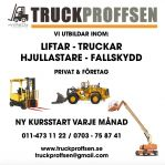 Lift Truckutbildning Hjullastare C2 Fallskydd
