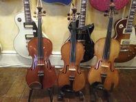 Fiol, Mandolin, Banjo, Bouzouki, Cittra m.m