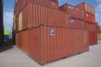 Begagnade 20ft & 40ft sjöcontainers i Umeå