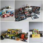 Lego technic, Power Miners, city & brädspel