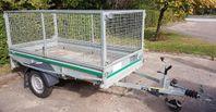 UTHYRES - Bromsat gallersläp 750 kg totalvikt