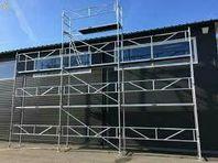 Flexibel byggställning, aluminium. 330m2