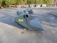 Planerskopa 1450L med Grävfäste B27/S2
