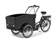 Cargobike Classic El-Lastcykel . Fullmonterad