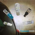 Kraftfulla LED utbytes-backlampor