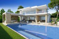 Modern villa med havsutsikt i Moraira