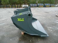 Ny 1250L Planerskopa med Grävfäste S70