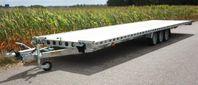 Biltransport släp 9 m last mått