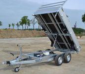 Debon 3-vägs tippsläp 2600kg eller 3500kg