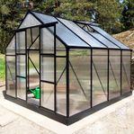 Växthus 7,2m² - Utökad odlingshöjd - REA