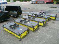 Sopborstar till Hjullastare,Truck,Grävare