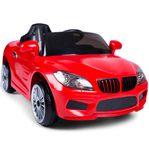 Röd elbil för barn 12V - REA - Fri frakt