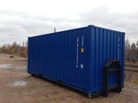 20 Fots Container på Lastväxlarram