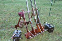 Gun Rack - för skjutbanan eller vapenrummet