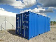 Container, nya eller beg, köp eller hyrköp