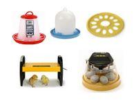 Äggkläckningsmaskin med tillbehör för vaktel