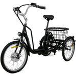 Trehjulig elcykel 6 växlar - Prissänkt