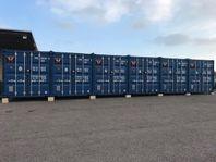 Container - moduler - förråd - verkstad- 6 st