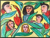 UTHYRES - Ulrika Hydman - Olja 88 x 115 cm