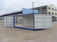 Ny 20ft container med öppningsbar långsida