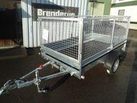 Släp Brenderup FS 750kg m.80cm grind 2019