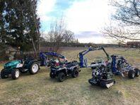Hydraulvagnar för ATV Järnhästen Traktor Oxen