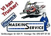 Olsson´s Maskinservice logotyp