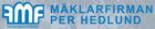 Mäklarfirman Per Hedlund butikslogo