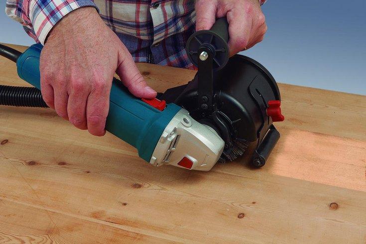 Icke gamla Borstmaskin för strukturering & färgborttagni | Flera platser FS-18