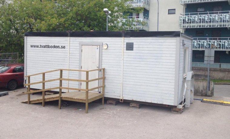 Mobila Tvättstugor uthyres Stockholm