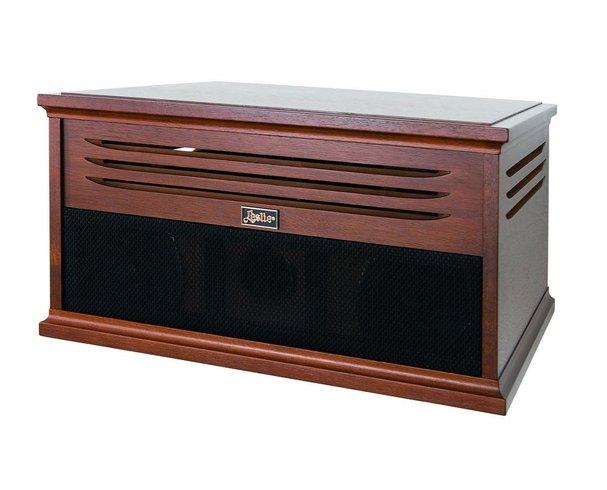 Hammond Leslie 2103 MK11 Wood cabinet - Botkyrka - Hemmaverisionen av 2101MK IILätt 23 kg.Amerikansk valnöt.50 watt till Rotorkanalen.2X75 till stationary.Du kan ha både Orgel och keyboard anslutet.11 pins leslieanslutning.3 st telejackanslutning8 polig DIN för alla nyare Hammond av tex SK  - Botkyrka