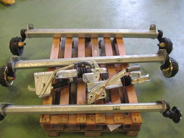 Kanon Axel, släpvagnsaxel, påskjutsbroms | Värmland PO-63