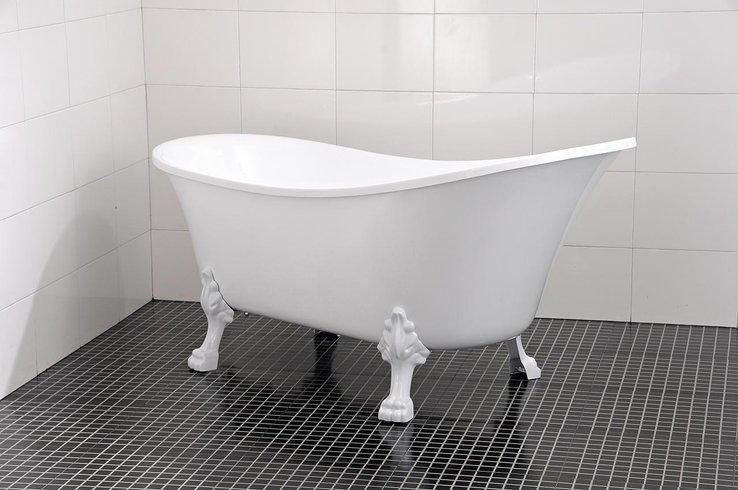 badkar med tassar billigt