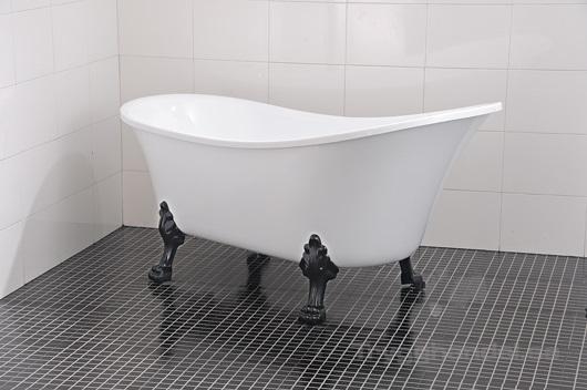 badkar med fötter