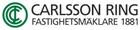 Carlsson Ring Fastighetsmäklare AB butikslogo