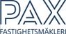 PAX Fastighetsmäkleri butikslogo
