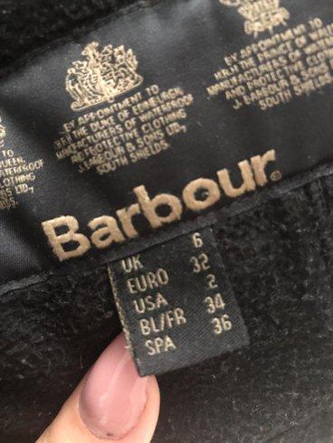 Barbour jacka fodrad