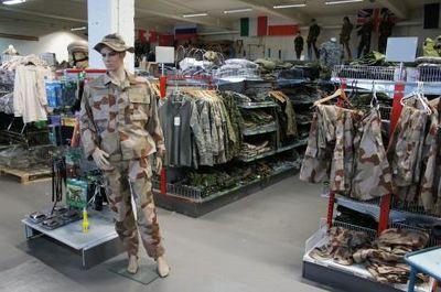 Militärt överskott växjö